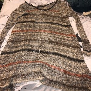 Free people Knitted striped sweater